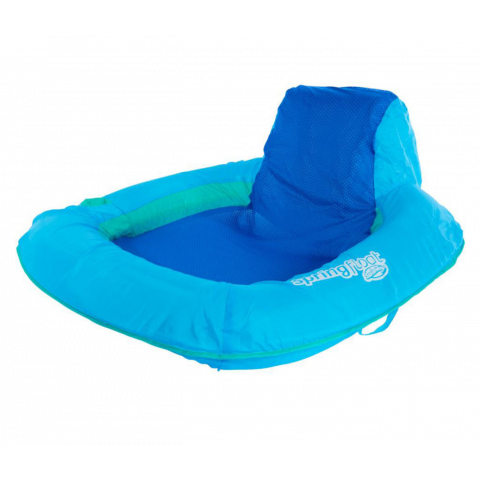 Swimways Spring Float Sun Seat, Blue