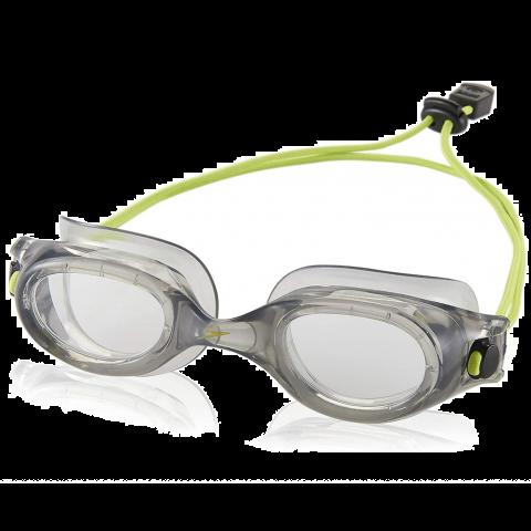 Speedo Hydrospex Bungee Goggle, Grey