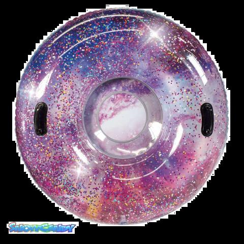 Pink Galaxy Glitter Tube
