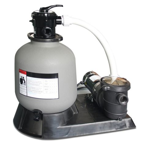 """Swimline 16"""" Sand Filter System with 1 HP Pump"""