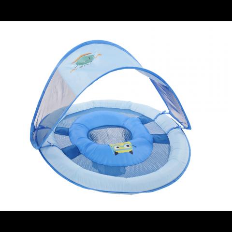 SwimWays Baby Spring Float w/Canopy, Blue