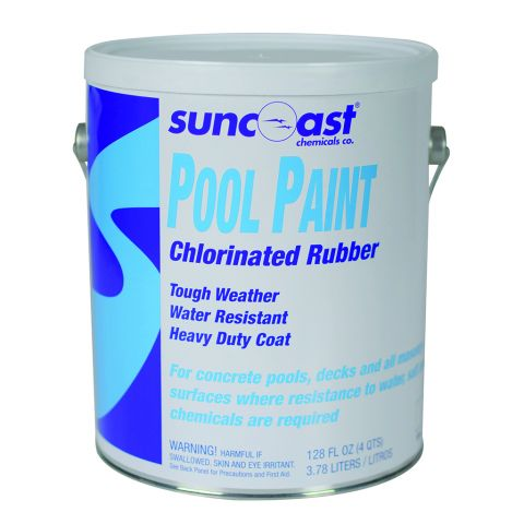 Suncoast Pool Paint, 1 Gal Chlorinated Rubber