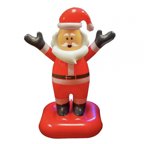 SunSplash Floating Inflatable Christmas Santa