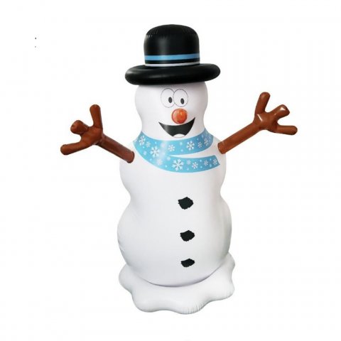 SunSplash Floating Inflatable Christmas Snowman