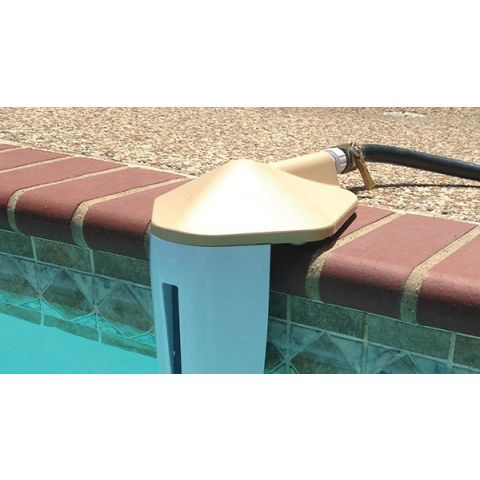 AquaLevel Tan Inground Pool Water Leveler