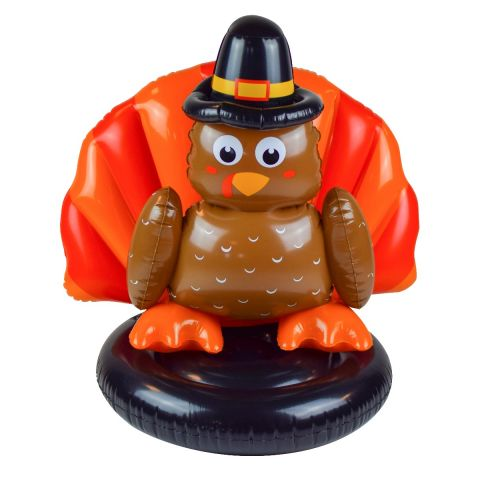 SunSplash Inflatable Thanksgiving Turkey Float